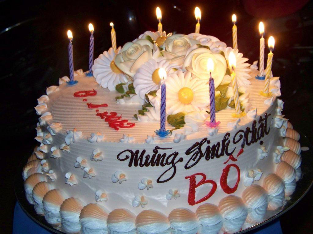 lời chúc sinh nhật bố
