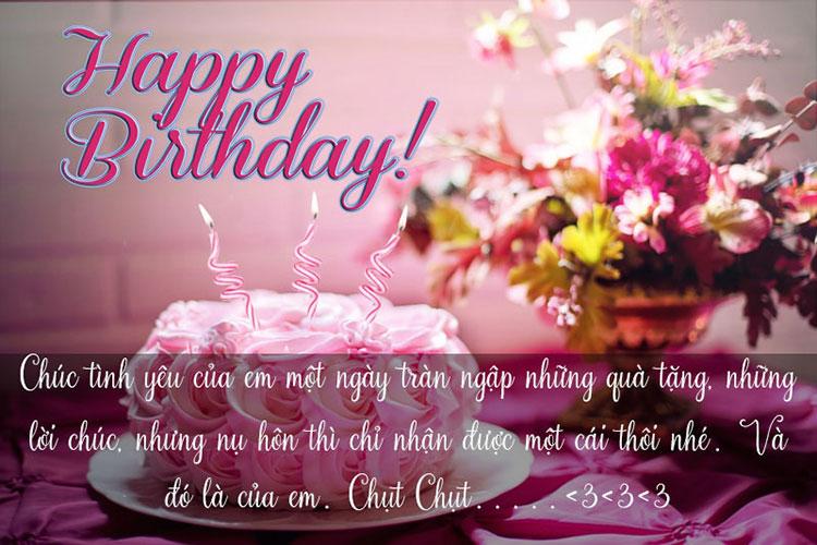 chúc mừng sinh nhật chồng